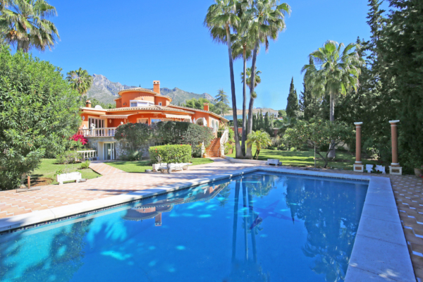 5 Dormitorio, 4 Baño Villa En Venta en Marbella Golden Mile